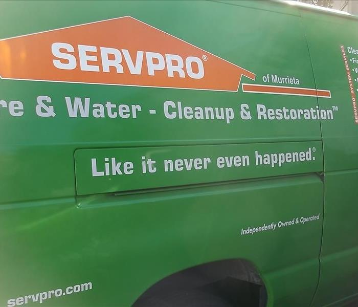 SERVPRO of Murrieta is ready 24/7