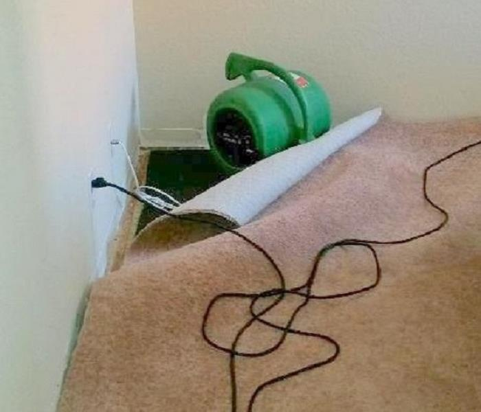 SERVPRO of Murrieta at water damage in Temecula, CA